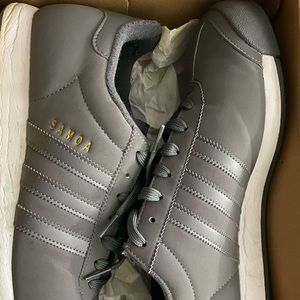 Gray Samoa Adidas Men Sneakers